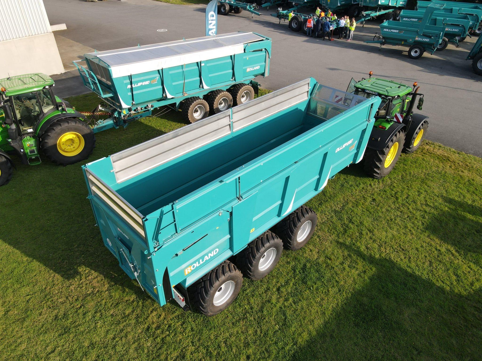 Nouveauté : Rollspeed 7840 rehausse hydraulique